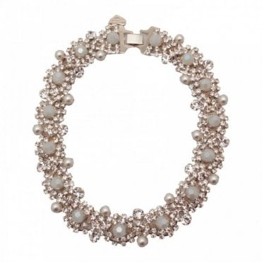 Crystal Faceted Statement Necklace