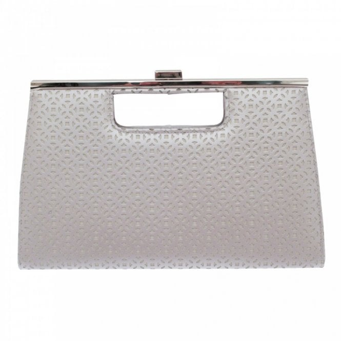 Lisa Kay Cut Out Clutch Bag With Chain Strap