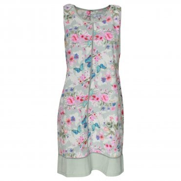 91a0af20c89b6a Size. 10 · 12 · 14 · 16 · Alice Collins Cutout Floral Detail Sleeveless  Dress