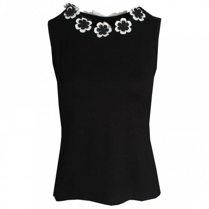 Badoo Daisy Collar Sleeveless Top