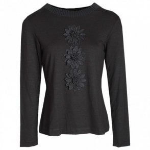 Badoo Daisy Embellished Long Sleeve Top