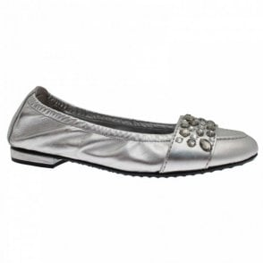 Diamanté Band Detail Ballerina Shoe