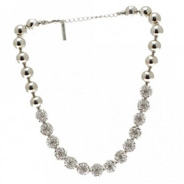 Diamante Disco Ball Effect Necklace