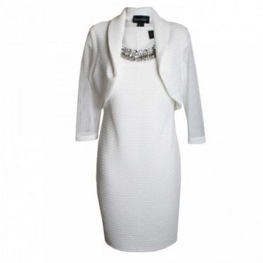 Frank Lyman Diamate Collar Dress And Jacket