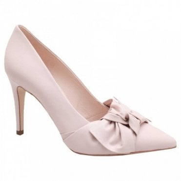 Dilia High Heel Court Shoe With Bow