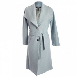 Badoo Double Breasted Shawl Collar Coat