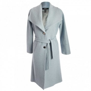 Double Breasted Shawl Collar Coat
