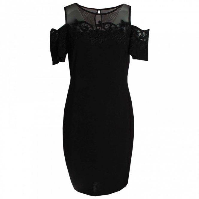 Frank Lyman Drop Sleeve Lace Detail Shift Dress
