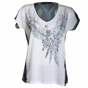 Eagle Bird Print Top