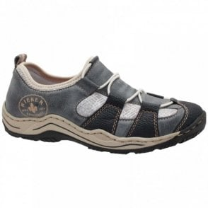 Rieker Elasticated Pull Tie Women's Trainer