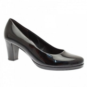 Gabor Ella Platform High Heel Court Shoe