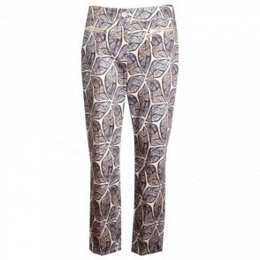 Ethnic Print Cotton Trousers