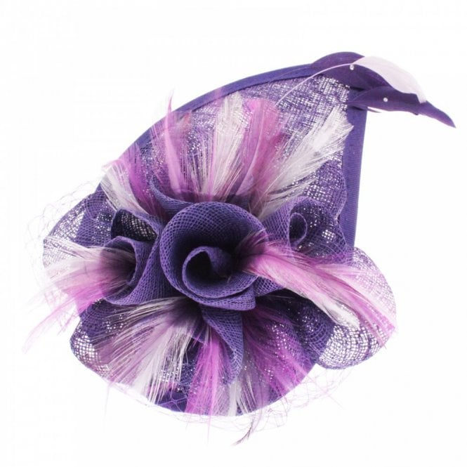 Walk In Style Fantasy Flower And Feather Fascinator