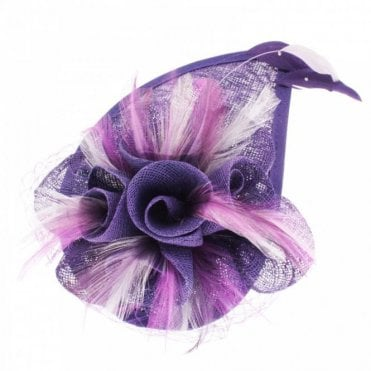 Fantasy Flower And Feather Fascinator
