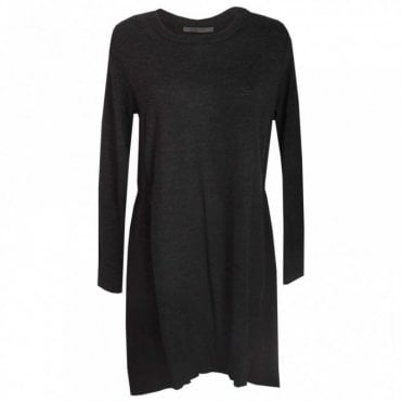 Fine Knit Long Sleeve Tunic