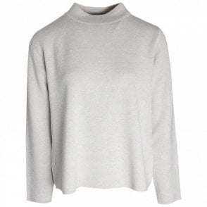 Fine Knitted Long Sleeve Polo Jumper