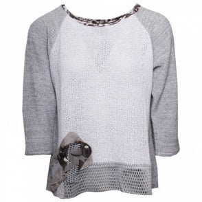 Tivoli Fine Knitted Round Neck Jumper
