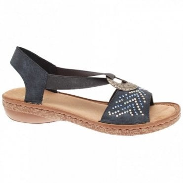Flat Sandal With Diamante