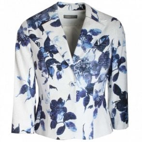Michaela Louisa Floral Print Tailored Jacket