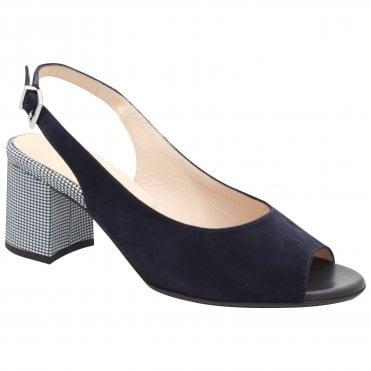 4b3347b9416 Peter Kaiser Folina Block Heel Sling Back Sandal