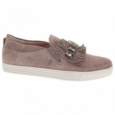 Frill And Diamant Band Moccasin