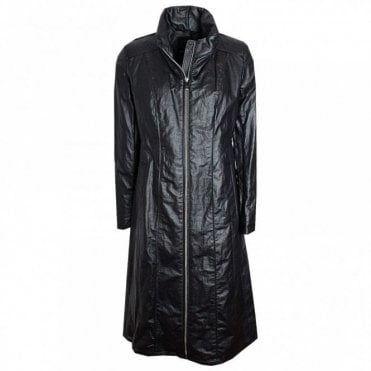 Full Length Long Panal High Collar Coat
