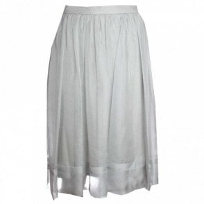 Fully Lined Chiffon Skirt