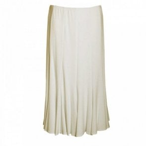 Frank Lyman Fully Lined Elasticate Long Panel Skirt