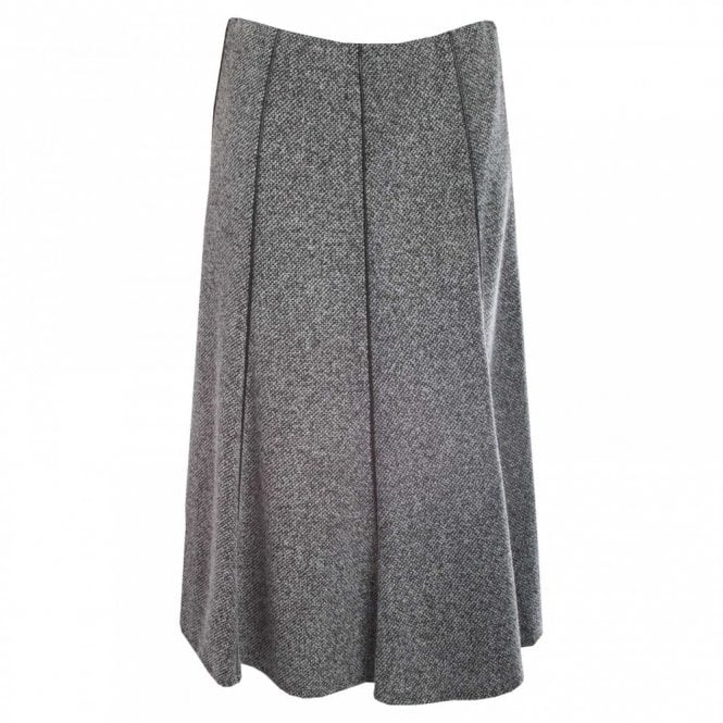 Hudson & Onslow Fully Lined Long Tweed Skirt