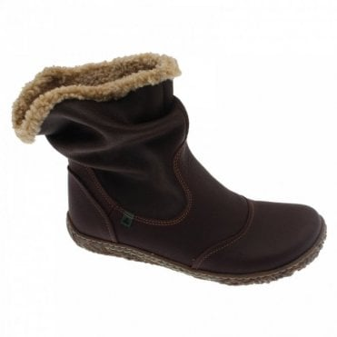 Fur Lined Flat Boot