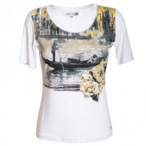 Gondola Printed Short Sleeve T-shirt