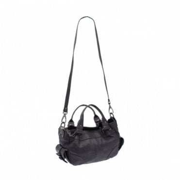 Grab Handbag With Shoulder Strap