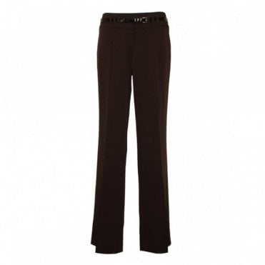 H/waist Belt Trousers