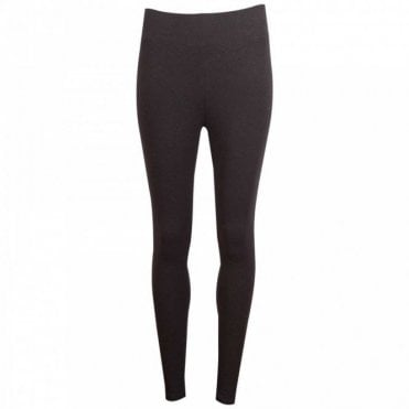 Thought Heavy Weight Black Leggings