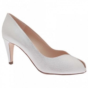 High Heel Peep Toe Court Shoe