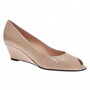 High Wedge Peep Toe Shoe