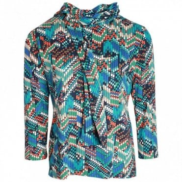 Inca Print Long Sleeve Top