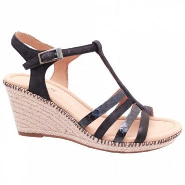 Jesmond T Bar Wedge Sandal