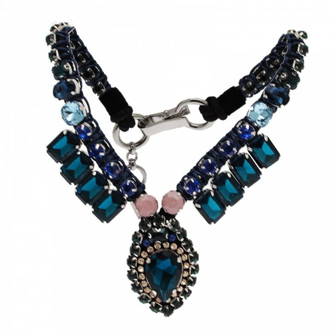 Butterfly Kasbah Embellished Statement Necklace