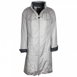 Creenstone Knee Length Raincoat With Turn Up Cuffs