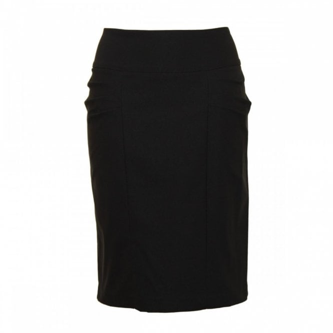 Frank Lyman Knee Length Skirt With Side Pleating
