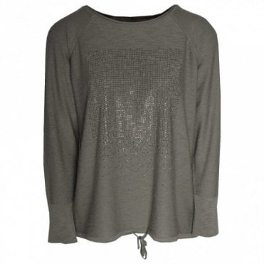 Knitted Long Sleeve Sparkle Jumper
