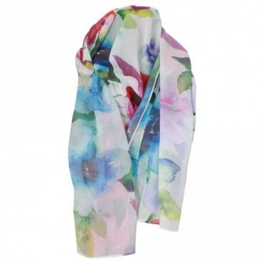 Frank Lyman Ladies Long Abstract Design Scarf