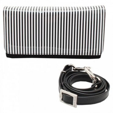 Lanelle Box Style Clutch Handbag