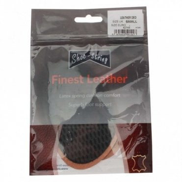 Latex Spring Cushion Leather Insoles