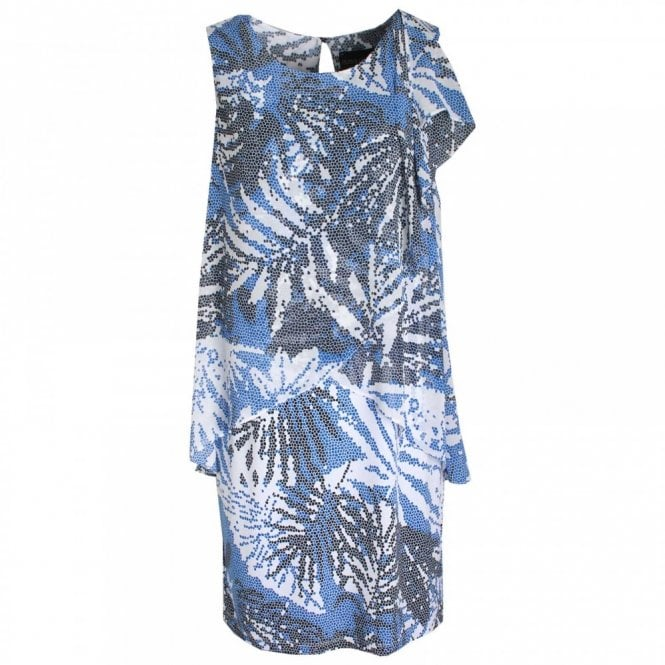 Frank Lyman Layered Slip On Sleeveless Printed Dress