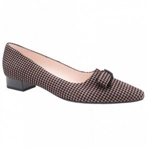 Leah Low Heel Court Shoe