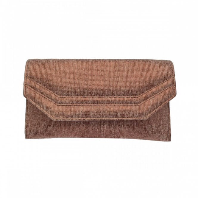 Renata Leather Envelope Style Clutch Bag