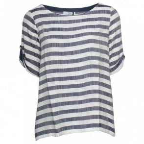 Lightweight Half Sleeve Striped T-shirt