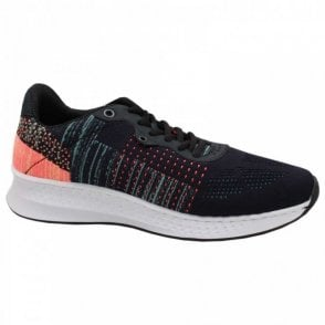 Lightweight Textile Lace Up Trainer